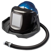 Allegro 9904-WB Deluxe Supplied Air Shield & Welding Helmet, No Flow Valve, 10 Lens