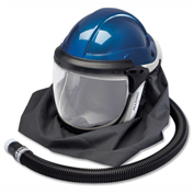 Allegro 9904 Deluxe Supplied Air Shield/Helmet, No Flow Valve