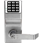 Trilogy DL2700WP/26D Weatherproof Keypad Programmable Pushbutton Lock 100 Combination Cap