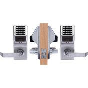 Trilogy DL5200/26D Access Control Programmable, Double-Sided Pushbutton Lock 100 Combination Cap