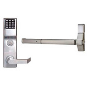 Trilogy ETDLS1G/26DV99 Access Control Digital Exit Device Trim, 2000 Combination, Regal Lever, Von D