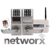 Networx PDL6100/26D Access Control Networx Digital/Proximity Lock, 5000 Combination, Wirelessly Prog