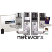 Networx PDL6500CRR/26D Access Control Networx Digital/Proximity Lock, 5000 Combination, Wirelessly P