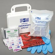 Pac-Kit Emergency CPR Kit, Plastic Case, 3025