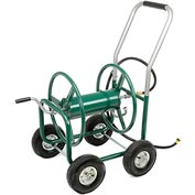 High-capacity Garden Hose Wagon (Garden Hose Not Included)