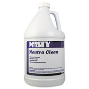 Misty® Neutra Clean Floor Cleaner Fresh Scent, Gallon Bottle 4/Case - AEPR8004CT