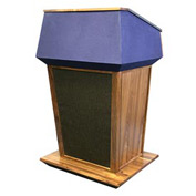 Non-Sound Patriot Plus Podium / Lectern-Walnut