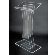 Contemporary Acrylic Podium / Lectern