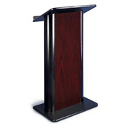 Jewel Mahogany Contemporary Color Panel Podium / Lectern