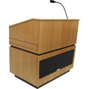 Coventry Sound Podium / Lectern - Natural Oak