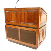 Ambassador Sound Podium / Lectern - Cherry