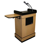 Multimedia Computer Podium / Lectern - Oak