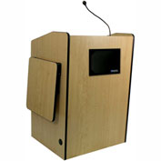 Multimedia Presentation Plus Podium With Sound - Maple