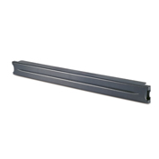 "1U 19"" Black Modular Toolless Airflow Management Blanking Panel - Qty 10"