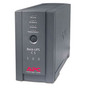 APC BK500BLK Back-UPS CS 500 Black