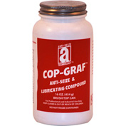 COP-GRAF™ Copper, Graphite Anti-Seize 1800°F, 1Lb. Brush Top 12/Case - 11018 - Pkg Qty 12