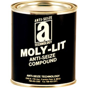 MOLY-LIT™ Moly & Graphite Based Anti Seize 2400°F, 2-1/2 Lb. Can 12/Case - 12032 - Pkg Qty 12