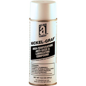 NICKEL-GRAF™ Nickel & Graphite Based Anti-Seize 2600°F, 16oz. Aerosol 12/Case - 13014 - Pkg Qty 12