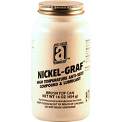 NICKEL-GRAF™ Nickel & Graphite Based Anti-Seize 2600°F, 1 Lb. Brush Top 12/Case - 13018 - Pkg Qty 12