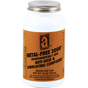 METAL-FREE 2000™ Non-Metallic Anti-Seize 2400°F, 1 Lb. Brush Top 12/Case - 20018 - Pkg Qty 12