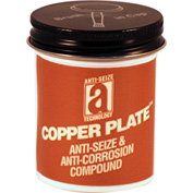 COPPER PLATE™ Anti-Seize W/O Graphite, Aluminum 1800°F, 2oz. Brush Top 48/Case - 21002 - Pkg Qty 48