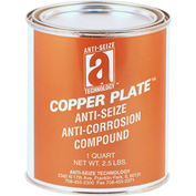 COPPER PLATE™ Anti-Seize W/O Graphite, Aluminum 1800°F, 2 Lb. Can 12/Case - 21025 - Pkg Qty 12