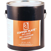 COPPER PLATE™ Anti-Seize W/O Graphite, Aluminum 1800°F, 8 Lb. Can 4/Case - 21030 - Pkg Qty 4