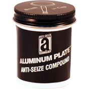 ALUMINUM PLATE™ Anti-Seize W/O Copper 2000°F, 2 oz. Brush Top 48/Case - 32002 - Pkg Qty 48