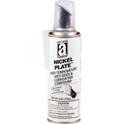 NICKEL PLATE™ Anti-Seize w/Graphite, 2600°F, 6oz. Pressure Can w/Applicator 6/Case - 35006 - Pkg Qty 6