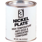 NICKEL PLATE™ Anti-Seize w/Graphite, 2600°F, 2 Lb. Can 12/Case - 35025 - Pkg Qty 12
