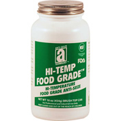 HI-TEMP FOOD GRADE™ Anti-Seize 2100°F, 1 Lb. Brush Top 12/Case - 41018 - Pkg Qty 12