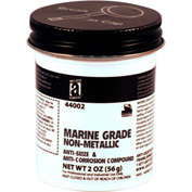MARINE GRADE™ Non-Metallic Anti-Seize, 2oz. Brush Top 48/Case - 44002 - Pkg Qty 48