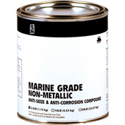 MARINE GRADE™ Non-Metallic Anti-Seize, 2-1/2 Lb. Can 12/Case - 44025 - Pkg Qty 12