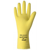 Unsupported Latex Gloves, Ansell 198-10, 12-Pair