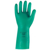 Sol-Vex Unsupported Nitrile Gloves, Ansell 37-155-11, 12-Pair
