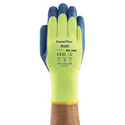 Powerflex T Hi Viz Yellow™ Gloves, Ansell 80-400-8, 1-Pair - Pkg Qty 6
