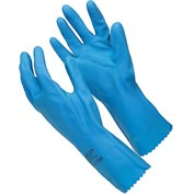 Natural Blue Chemical Resistant Gloves, Ansell 88-356, Unsupported, Unlined, Size 8, 1 Pair - Pkg Qty 12