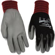 HyFlex® Lite Gloves, Ansell 11-600, Black Foamed PU Palm Coat, Size 7, 1 Pair - Pkg Qty 12
