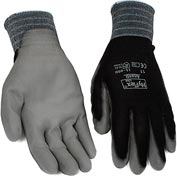 HyFlex® Lite Gloves, Ansell 11-600, Black Foamed PU Palm Coat, Size 11, 1 Pair - Pkg Qty 12
