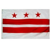 3X5 Ft. 100% Nylon District of Columbia State Flag