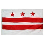 4X6 Ft. 100% Nylon District of Columbia State Flag