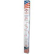 Annin Flagmakers Liberty Telescoping 21' Aluminum Pole with 3'x 5' Nylon U.S. Flag Set