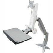 Dyconn Ergonomic Heavy Duty Sit Stand Desk Mounted Work Station Mount