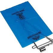 """Armor Poly VCI Bags 12""""W x 18""""H 4 Mil Blue 500 Pack"""