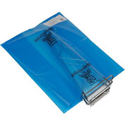 "Armor Poly VCI Bags 16""L x 10""W x 10""H 4 Mil Blue 250 Sheets Per Roll"