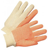 Dotted Canvas Gloves, Anchor 781KOR, Price per Dozen