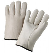 4000 Series Cowhide Leather Driver Gloves, Anchor 990/Xl