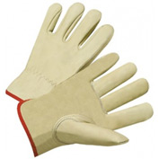4000 Series Cowhide Leather Driver Gloves, Anchor 990k-A/Xl