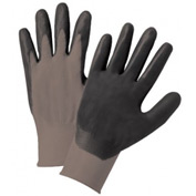 Foam Nitrile Palm Coated Nylon Gloves, PosiGrip® 713SNF/XS - Pkg Qty 12