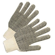 PVC Dot String Knit Gloves, Anchor 708SK